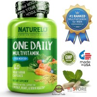 NATURELO - #1 Ranked - One Daily Multivitamin for Men +50 - 60caps