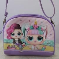 Tas selempang anak perempuan oval Lol surprise