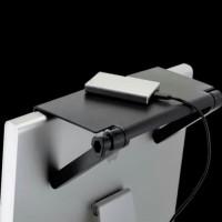 Rak Tv gantung minimalis portable Floating Rack WiFi Recorder Remote
