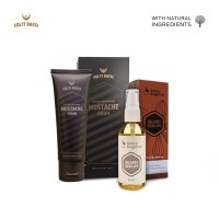 Folti Baffi Mustache Cream Paket Krim dan Serum Penumbuh Brewok Manjur