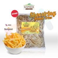 SOPHIE SHOESTRING FRIES 600gr ( KENTANG BEKU)