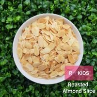 Roasted Almond Slice / Almond Slice Oven - 500 gram