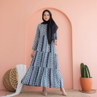 Vivere summer navy dress busui by EMA Daily