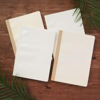 Leaf Impression Thick Ruled Notebook B5 Ruled / Buku Tulis B5 Bergaris