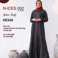 Sale Baju Gamis Syar'i ORI Nibras N-ICES 002 Size XXL Murah