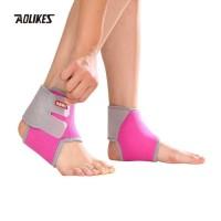 Aolikes 7128 Ankle Support Protector KID -Pelindung Kaki Anak - ROSE