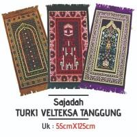 Sajadah Turki Turkey Velteksa Tanggung/Souvenir Oleh Oleh Haji Umroh