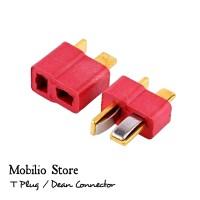1 Set T Plug / Dean Connector/ Konektor Male & Female