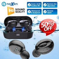 Headset Bluetooth Naxen XG15 TWS Wireless Bluetooth Earphone 5.0