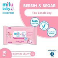 Mitu Baby Wipes Fresh n Clean Pink [10'S]