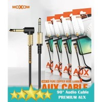 MOXOM AUX-13 Kabel Audio AUX 3.5mm Male to Male 90' Audio Cable