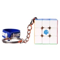 Rubik Gan 330 3x3x3 Stickerless 3x3 Keychain Gantungan Kunci BUKAN 356