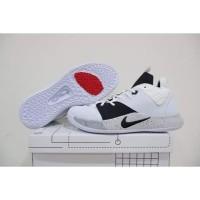 Sepatu Basket Nike Paul George PG 3 LOW Moon White