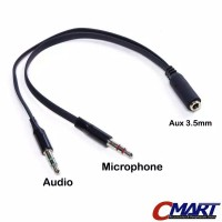 Kabel Jack audio 3.5mm to headphone and Splitter