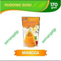NUTRIJELL PUDDING SUSU MANGGA ,STRAWBERRY & PANDAN