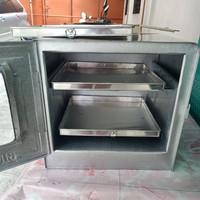 oven tangkring / oven bima uk 38 susun 2 + loyang 28x28x2=3pcs
