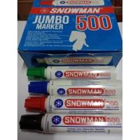HARGA GROSIR! SPIDOL PERMANENT JUMBO SNOWMAN 500