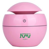 Pelembab Ruangan Aromaterapi /Humidifier Lampu Tidur 6 Warna