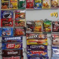 Ganci miniatur snack gantungan kunci