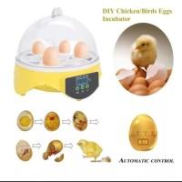 7 Eggs Incubator Mesin Alat Penetas Tetas Telur Digital Inkubator