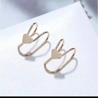 Ear Clip | Anting Jepit Fashion Korea Terlaris (High Quality) Import