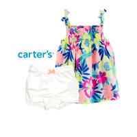 Setelan Carters Anak Bayi Perempuan Floral