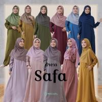 Baju Gamis wanita muslimah Safa Dress Greenism