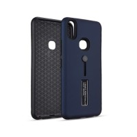 VIVO V9 Silicone Ring Stand Luxury Soft Gel Capa Armor Case