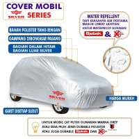 Toyota Agya Cover Mobil Sarung Selimut Tutup Silver