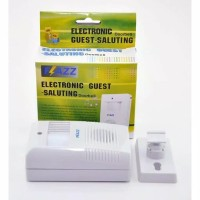 SENSOR Bel Pintu Sensor Gerak Flazz Electronic Guest Saluting Wireless