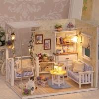 Mainan Rumah Rumahan Miniatur Anak House Doll Barbie Boneka Mini 2