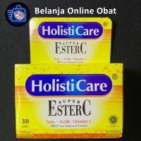 HOLISTICARE SUPER ESTER C ( 30 TABLET )
