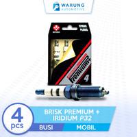 Busi Mobil Grand livina Avanza Dual Vvti BRISK Premium + Iridium P32