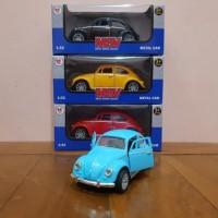 Diecast Mobil Klasik VW Kodok Beetle
