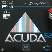 Donic Acuda S2 / karet bet pingpong - Hitam
