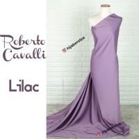 HijabersTex 1/2 Meter Bahan Kain ROBERTO CAVALLI Lilac