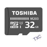 Micro SDXC TOSHIBA M203 32GB 100Mbps CL10 ORIGINAL GARANSI RESMI