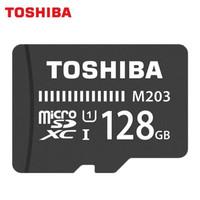 Micro SDXC TOSHIBA M203 128GB 100Mbps CL10 ORIGINAL GARANSI RESMI