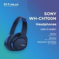Sony WH-CH700N / WH CH700N / CH 700 N Wireless N.C Headphones - Blue