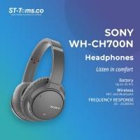 Sony WH-CH700N / WH CH700N / CH700 N Wireless N.C Headphones - Grey