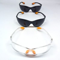 Kacamata Safety | Las Hitam gelap pelindung | Kacamata Fashion