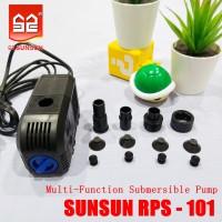 Pompa Aquarium IMPORT Pompa Celup Kolam SUNSUN Submersible RPS 101