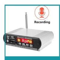 Mc 5V12V 1mobil Bluetooth Radio Handsfree Audio Modified
