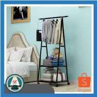 Stand Hanger Triangle - Rak Pakaian / Rak Baju / Rak Serbaguna
