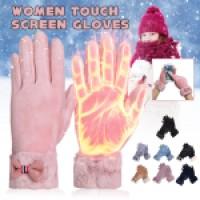 Sarung Tangan Wanita Model Hangat Anti Angin Touch Screen untuk