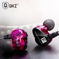 QKZ CK9 Double Unit Drive In Ear Earphone Bass Subwoofer HIFI DJ