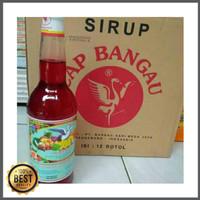Sirup Cap Bangau / Sirup Bango Pisang Ambon 1 Dus isi 12 Botol Diskon