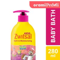 ORAMI - Zwitsal Kids Bubble Bath Pink Soft & Moisturizing 280ml