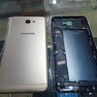 Case Kondom Fullset Samsung Galaxy J7 Prime Navy Gold Premium