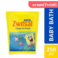 ORAMI - Zwitsal Kids Bubble Bath Blue Clean & Fresh 250ml